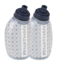 Nathan Fire & Ice 8oz Flask - 2 Pack