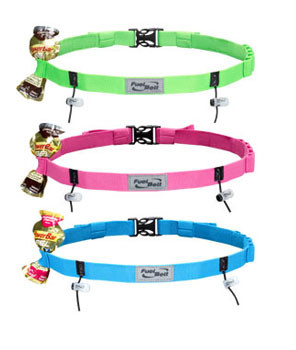 Fuel Belt Gel-Ready Race Number Belt - 5 Colors