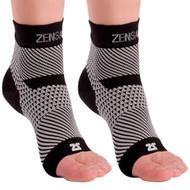 Zensah PF Compression Sleeves - Pair Black