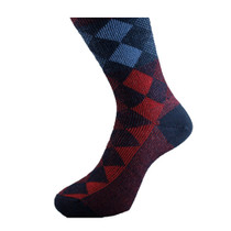 Argyle Patterned Socks