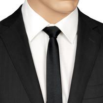 Skinny Black Tie