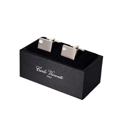 Cufflinks With Crystal