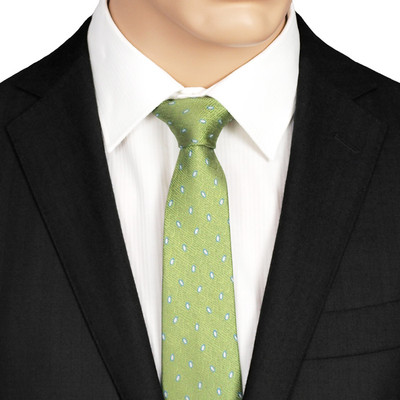 Green Skinny Tie