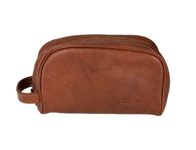Italian Leather Toiletry Bag