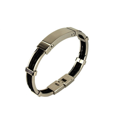 Mens Bangle Style Bracelet