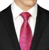 Pink Silk Tie