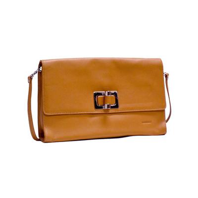 Honey Leather Shoulder Bag