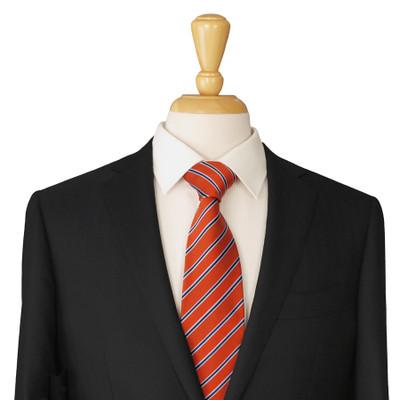 Orange Silk Necktie