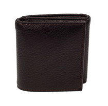 Brown Pierre Cardin Trifold Wallet