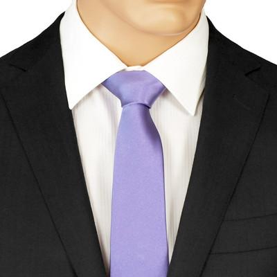 Purple Skinny Tie