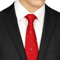 Red Silk Tie