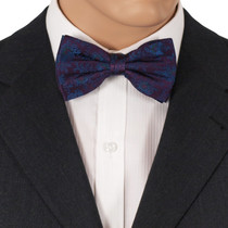 Purple Silk Bow Ties