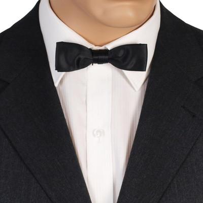 Skinny Black Bow Tie