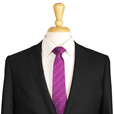 Slim Purple Tie