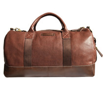 Henri Leather Holdall