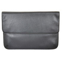 Black Leather Business Sleeve
