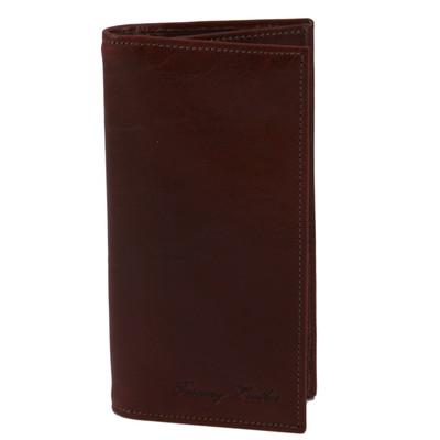 Brown Leather Coat Wallet
