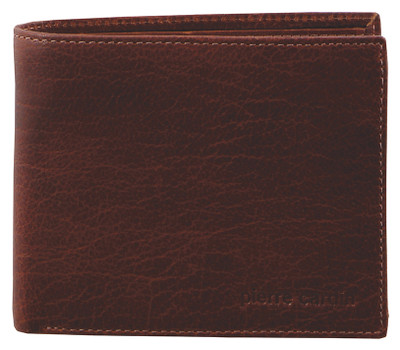 Chestnut Leather Bifold Wallet