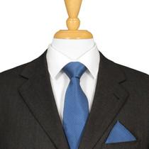 Blue Silk Tie