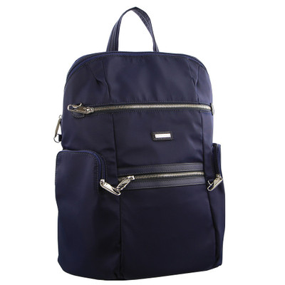 Navy Blue Anti Theft Backpack