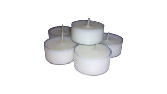 Organic Soy Wax Peppermint Essential Oils Tea Light pack of 12