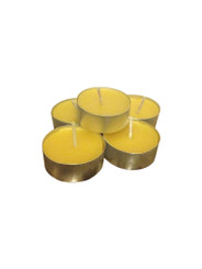 beeswax tin tealight candles
