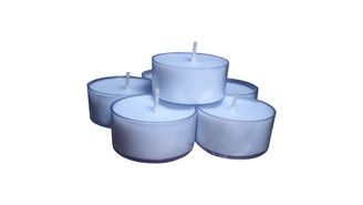 All Natural Natural Aromatherapy  Lavender Essential Oils Soy Wax Tea light  Candles 12 pack