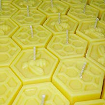 hexagon tea light candles