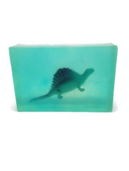 Kids Soap Clear Soap with  Dinosaur Toy inside Watermelon Scented