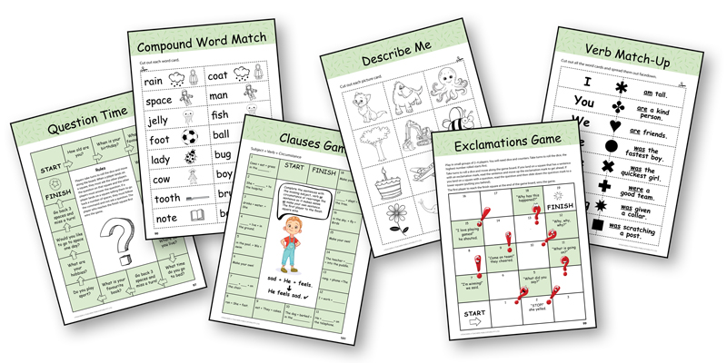 Grammar Conventions Teachers Book with Games