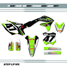 BLAZE KAWASAKI GRAPHIC KIT