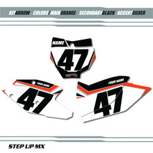 Arrow KTM Number Plates
