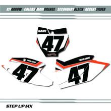 Arrow KTM Number Plates