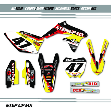 Suzuki, Step Up MX Team Kit