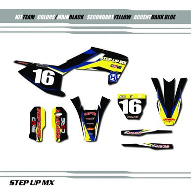Husqvarna, Step Up MX Team graphic kit