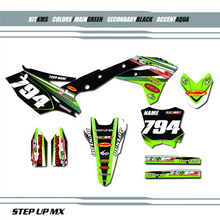 Full KMS Team Kit, order with your requested name, number and motorsports sponsor logo's