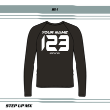 MX 1 JERSEY LETTERING STYLE