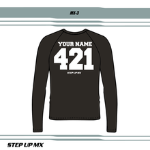 MX 3 JERSEY LETTERING STYLE