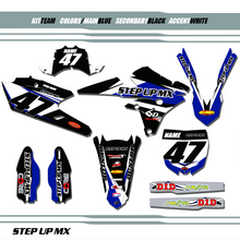 YAMAHA MX, TEAM KIT YAMAHA GRAPHIC KIT