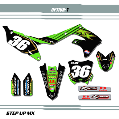 FACTORY 19 STYLE With Black Backgrounds White Numbers