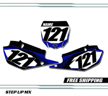 Yamaha YZ450 2018-2020 quick ship number plates