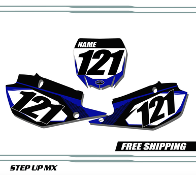 Yamaha YZ450 2018-2020 quick ship number plates