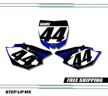 Yamaha YZ450 2014-2017 quick ship number plates