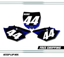 Yamaha YZ250F 2014-2018 quick ship number plates