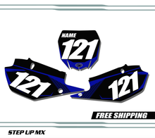 Yamaha YZ250F 2019-2020 quick ship number plates