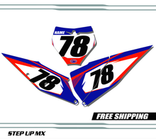 KTM 125-450 2019-2020 quick ship number plates