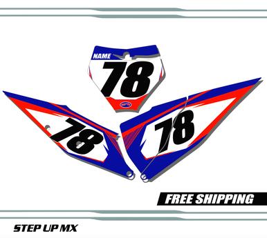 KTM 125-450 2019-2020 quick ship number plates