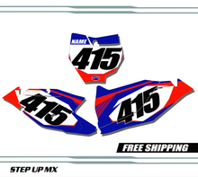KTM SX-F 125-450 quick ship number plates