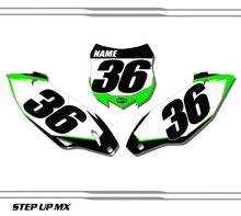 Kawasaki KX450F 2015-2020 quick ship number plates