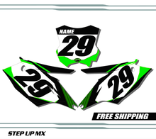 Kawasaki KX450F 2016-2018 quick ship number plates